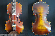 Baroque style SONG maestro inlay 4/4 violin, huge and powerful sound.