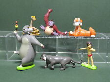 Le livre de la Jungle set complet lot 6 Figurine KID'M Jungle Book Figure Disney