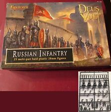 FireForge FFG010 Medieval Russians Russian Infantry (25) Miniatures Soldiers NIB