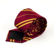 Classic Stripes Tie Ravenclaw Hufflepuff Gryffindor Costume Necktie UF