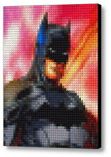 Batman Comic Lego Framed Mosaic Limited Edition Numbered Art Print