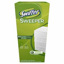 Swiffer Sweeper Dry Refill 80 ct Duster Sweeping Cloth Mop Floor Wipes