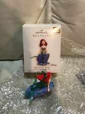 2006 Hallmark Disney The Little Mermaid Part Of Your World Ariel Magic Ornament
