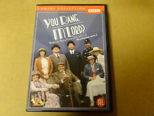 2-DISC DVD / YOU RANG, M' LORD - SERIE 3 ( BBC )