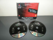 De Sang Froid / In Cold Blood - Jeu PS1 PROMO ONLY NOT FOR RESALE RARE