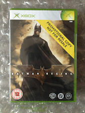 Brand NEW FACTORY SEALED BATMAN inizia PROMO (full Game) PER XBOX ORIGINALI