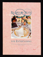ROCHESTER MINNESOTA CIVIC MUSIC GUILD RECIPES OF NOTE-VERY GOOD 1994 COOKBOOK