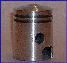 NEW PISTON PISTÓN SET KIT WITH RINGS PIAGGIO 48 BOXER spin.10 1973-1981
