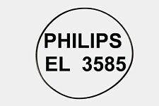 COURROIES PHILIPS EL 3585 EXTRA FORT MAGNETOPHONE A BANDE A BATTERIE EL3585