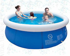 Family Swimming Pool  Easy Set Large  Paddling Pool Tub Outdoor 10ft