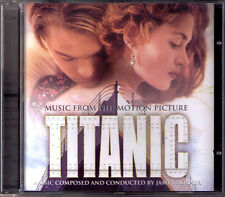 Titanic James Horner OST CD CELINE DION My heart will go on James Cameron NEUF