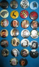 GAME OF THRONES Pinback Button Set of 26 Officially licensed Lannister Targaryen