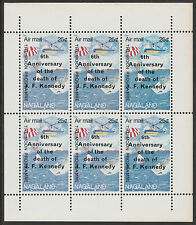 Nagaland (2232) - 1969 Kennedy Death Anniv perf sheet of 6 unmounted mint