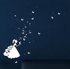 Leuchtsticker Wandtattoo fluoreszierend Cinderella M1381