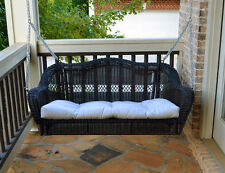 Wicker Porch Swing - With Cushion