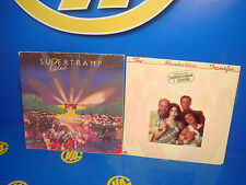 Lote 2 Vinilos - SUPERTRAMP Paris 1980 y THE MANHATTHAN TRANSFER coming out 1976