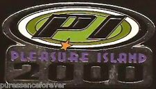 Disney Pin: Walt Disney World - Pleasure Island 2000: PI Logo (Silvertone)