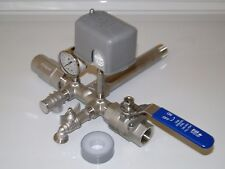 STAINLESS 1x11 TANK TEE KIT + VALVES WATER WELL PRESSURE TANK 4060 FSG2 SQUARE D