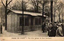 CPA PARIS FOIRE Vue d'un groupe de deux boutiques (305464)