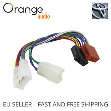 Wiring Lead Harness Adapter for Toyota ISO stereo plug adaptor