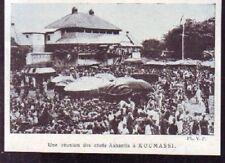 1924  --  UNE REUNION DES CHEFS ASHANTIS A KOUMASSI   W027