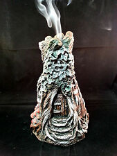 Fairy Tree House incense cone burner, Door, Fae, Faeries, Fairies
