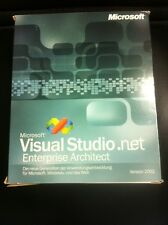 Microsoft Visual Studio. Net 2002 Enterprise Architect tedesco con IVA FATTURA
