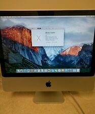 "Apple iMac 20"" 2.66GHz Intel Core 2 Duo 4GB Ram 320GBHD 10.11.3 El Capitan A1224"