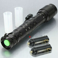 Military Grade Tactical T6 3600LM LED Torch Zoom G700 Shadowhawk X800 T200 XT808