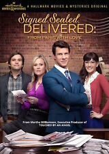 SIGNED, SEALED, DELIVERED DVD - FROM PARIS WITH LOVE - NEW UNOPENED - HALLMARK