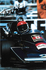 Michel Leclere SIGNED F1 Wolf-Williams FW05 , Monaco Grand Prix 1976
