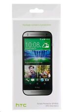 HTC R130 protectores de pantalla para Una Mini 2 Transparente 2 x NUEVO OFICIAL