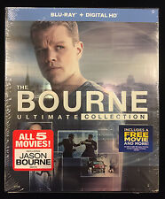 The Bourne Ultimate Collection (Blu-ray + DIGITAL HD)  2016, 5-Disc Set -NEW-
