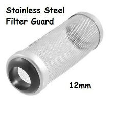 Aquarium Stainless Steel 12mm Mesh Filter Guard Shrimp Fish Lily Pipe Canister