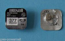 5 x MAXELL 377 BATTERIE 34143 KNOPFZELLE UHRENBATTERIE 1,5V SR 626 SW V377  AG4