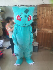 Halloween BULBASAUR Pokemon Center pikachu Mascot Costume Adult Fancy Dress