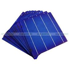 100pcs 156x156 6x6 in 4.3W/pc Solar Cell Cells Sunpower for 400W DIY Solar Panel