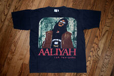 1994 AALIYAH age aint nothing but a number R Kelly vtg 90s rap hip hop T-shirt