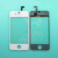 New White LCD Touch Screen Display Digitizer Glass Lens Panel For iPhone 4 4S