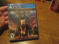 Grand Ages: Medieval -- Limited Special Edition PS4 NEW SEALED HARD TO FIND RARE