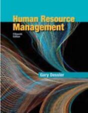 Human Resource Management by Gary Dessler (2016 Hardcover) 15th INSTRUCTOR'S ED.