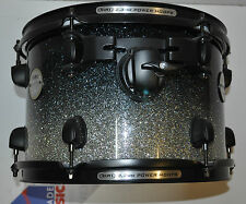 "Mapex  12""x 8"" Meridian maple tom in Galaxy sparkle fade Black hardware"