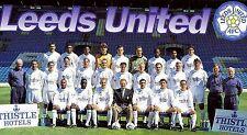 LEEDS UNITED FOOTBALL TEAM PHOTO 1995-96 SEASON