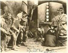 Wizard of Oz Wicked Witch Margaret Hamilton autographed 5 x 7 reprint Xmas gift