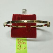 18k saudi gold 5.5g bangle medium cartier design bracelet,,