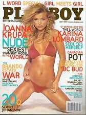 Playboy July 2005 Joanna Krupa Nude The Sexiest Swimsuit Model in the World   DH