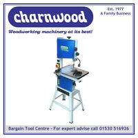 """NEW MODEL CHARNWOOD B250 10"""" PREMIUM WOODWORKING BANDSAW WITH 6"""" DEPTH OF CUT"""