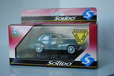 SOLIDO  FRANCE REF 4546 PEUGEOT 203 BERLINE 1954 TBE EN BOITE MINIATURE 1/43