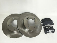 Both Brake Rotors and Brake Pads for 2014-2015 Mirage