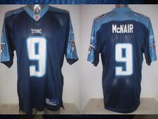 Tennessee Titans 9 McNAIR Adult Large Shirt Jersey Reebok NFL Football USA Top